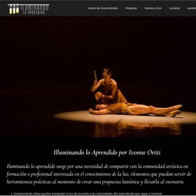 Sitio Web Ivonne Ortiz