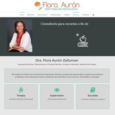 Flora Aurón ScreenShot