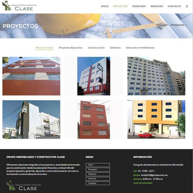 Grupo Inmobiliario y Constructor CLASE