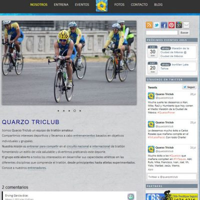 QuarzoTriClub screenshot