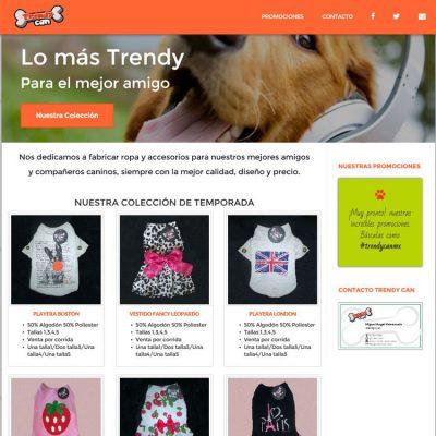 Trendycan screenshot