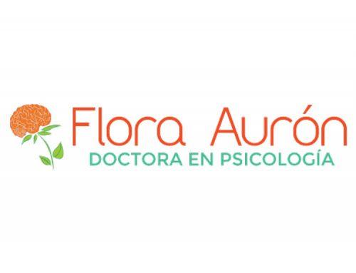 Dra. Flora Aurón Logo