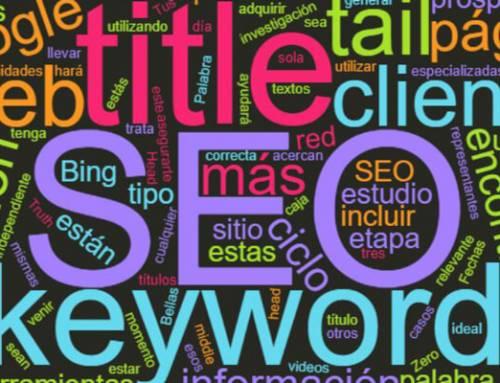 Palabras clave en el posicionamiento web