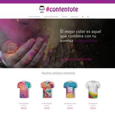 Sitio web #contentote